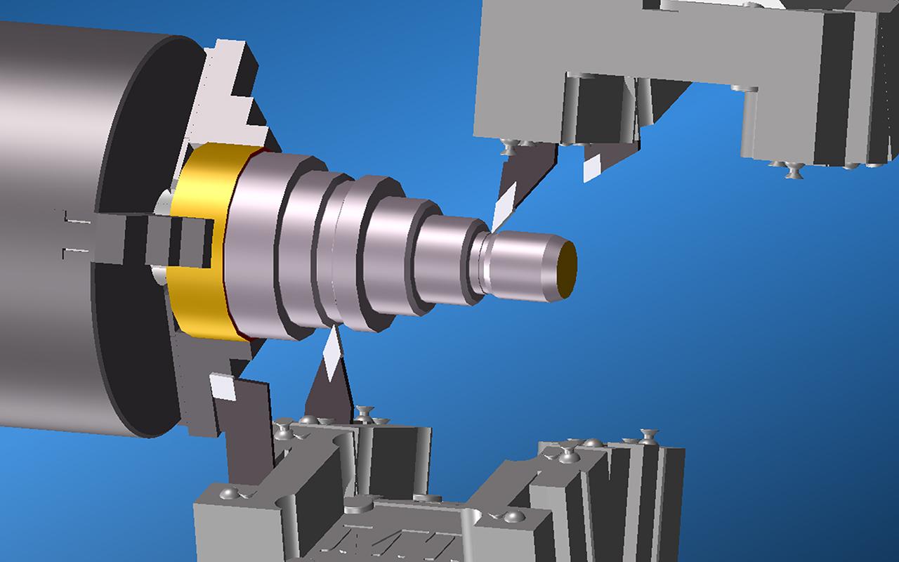 GibbsCAM Multi-task Machining (MTM)